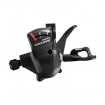 SHIMANO LEFT Shifter DEORE SL-T610 3sp Black (KSLT610LBL)