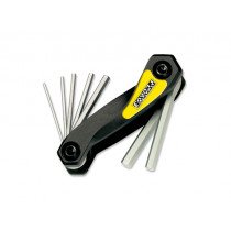 PEDRO'S Folding Hex Wrench Set  (6463100)