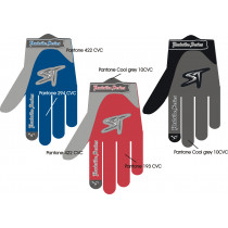 SHOCK THERAPY Pair Gloves Hardride Free Summer Blue/Grey Size 8 (80099/B/08)