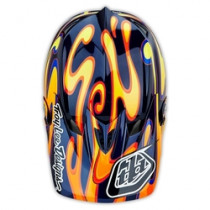 TROY LEE DESIGNS Helmet Visor Squirt D3 Black/Orange (A3115255)