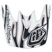 TROY LEE DESIGNS Helmet Visor Squirt D3 White (A3115256)