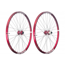 "SPANK Wheelset OOZY TRAIL 295 29"" Disc (15x100mm / 12x142mm) Red (C08OT293140ASPK)"