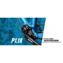 PINION Gearbox P1.18 Black (157117002)
