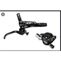 SHIMANO REAR Disc Brake XT BL-M8000 / BR-M8000 2 Pistons 160mm PM w/o disc (L.1750mm) W/FIN (KM8000RRXSX175)