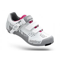 SUPLEST Shoes  STREETRACING SupZero Buckle LADY Silver/White/Red Size 42 (01.026.42)