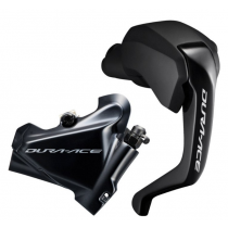 SHIMANO REAR Disc Brake DURA-ACE ST-R9180 / BR-R9170 140mm w/o disc (L.1700mm) w/Fin Black (KR9180DLRENX170)