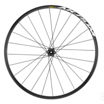 MAVIC FRONT Wheel AKSIUM Disc 700C (12x100mm) Black (101219062)