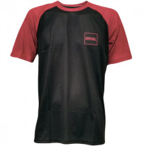 ROYAL Racing Jersey HERITAGE Short Sleeve Black / Plum Red Mottled - M (0066-52-530)