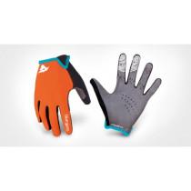 BLUEGRASS Pairs Gloves MAGNETE Lite Orange/Cyan Size S (3GLOH04S0AR)