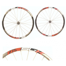 "FSA Wheelset SL-K 27.5"" Carbon Disc (15x100mm/ 12x142mm) Black/ Red"