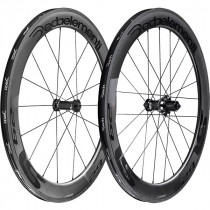 DEDA ELEMENTI Wheelset SL62C Carbon Clincher Polish On Black