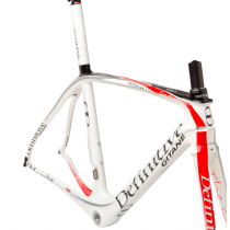 DEFINITIVE GITANE Frame THE ONE ISP Carbon 700C Size 55 White (C1306202-550-08)