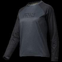 IXS Jersey Women's Progressive 7.1 Long Sleeve  Graphite/Black Size 44 (473-510-7761-003-44)