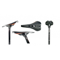 ITM (SeatPost + Saddle) SIT'N'GO Carbon 31.6x350mm Black With Red Line (200911011-29)