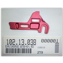 ASTRO Patte de dérailleur pour cadre E-Bike Red (W67SB-HG-L RED) (10213038)