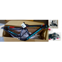"""CANNONDALE Cadre JEKYLL 27.5"""" Black/Blue + Amortisseur Taille M"""
