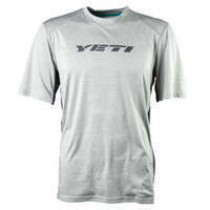 YETI Maillot Tolland Manche Courte Light Grey Taille S (A2618537.S)