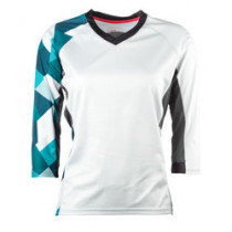 YETI Women's Enduro Jersey Turquoise Geo Taille L (A2617682.L)