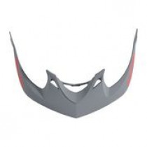 TROY LEE DESIGNS Helmet Visor Drone A1 Grey/Red (A3116041)
