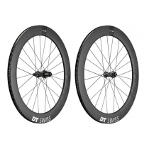 DT SWISS Paire de roues PRC 1400 SPLINE 65 Carbon Disc 700C (12x100mm / 12x142mm) Black (94233472 / 94243472)