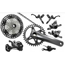 SHIMANO 2020 Groupe Complet XTR 9100 MONO BOOST 12sp 175mm