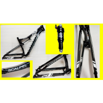 """CANNONDALE Cadre SCALPEL 29""""  Black + Rear shock Taille S"""
