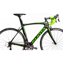 KUOTA Cadre KRYON Carbon Dark/Green + Fourche + Tige de Selle  Taille M
