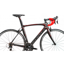 KUOTA Cadre KRYON Carbon Dark/Red + Fourche + Tige de Selle  Taille L
