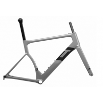 3T Cadre STRADA DUE TEAM Disc Carbon Grey + Fourche Taille M