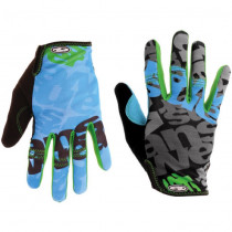 ANSWER Paires de Gants CLASH Cyan /Green Size S (30-25275-F115)