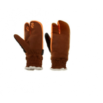 ANSWER Chopper Trail Builder Mitt Brown Size L  (30-25275-F093)