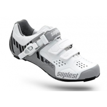 SUPLEST Chaussures STREETRACING SupZero Buckle Silver/White Taille 45 (01.024.45)