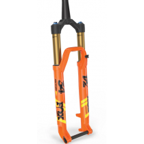 """FOX RACING SHOX 2020 Fourche 34 FLOAT SC 29"""" FACTORY 120mm FIT4 Kabolt 15x110mm Remote 2Pos Tapered Kashima Orange (910-20-722)"""