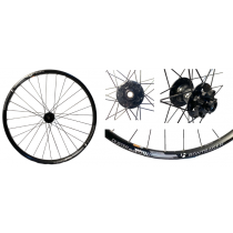 BONTRAGER Roue AVANT DUSTER ELITE TLR 27.5 Disc (15x100mm) Black (191226006)