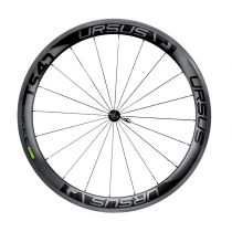 URSUS Paire de roues MIURA TS47 FULL Carbon Tubular (9x100mm / 9x130mm) - R40 - Black