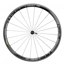 URSUS Paire de roues MIURA TS37 FULL Carbon Tubular (9x100mm / 9x130mm) - R40 - Black