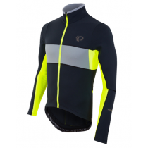 PEARL IZUMI MAILLOT ELITE THERMAL Taille M Black/Yellow  (PI11121624062M)