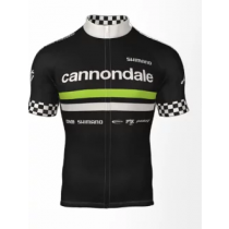 SHIMANO Jersey Team Replica CANNONDALE Black Taille S  (SHECWJSPSSS51UL4S)