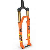 """FOX RACING SHOX 2020 Fourche 34 FLOAT SC 29"""" FACTORY 120mm FIT4 Kabolt 15x110mm Remote 2Pos Tapered Kashima Orange (910-20-721)"""
