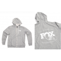 FOX Racing HOODY Grey Size S (FXCA916012)