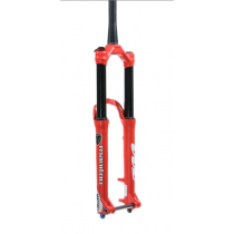 """MANITOU Fourche MATTOC 3 PRO 27.5"""" 160mm BOOST (15x110mm) Tapered Red (191-33673-A002)"""