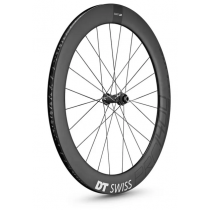 DT SWISS Roue AVANT PRC 1400 SPLINE DB 65 Carbon 700C (12x100mm) Black (WPRC140AIDXCO04398)