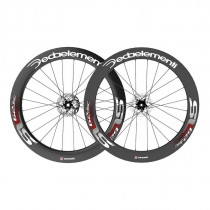 DEDA ELEMENTI Paire de roues SL62DB Carbon Clincher Disc TEAM