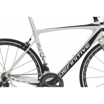 DEFINITIVE GITANE Cadre THE ONE Carbon 700C Size 55 White (C1306201-550-04)