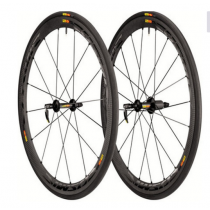 MAVIC  Paire de roues COSMIC CARBON 40 Tubular Black (MP5440125)