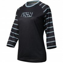 IXS Jersey Women's VIBE 6.2 Black/Turquoise Size 44  (473-510-6851-190-44)