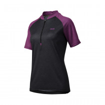 IXS Jersey  Women's Trail 7.1 Black/Purple Size 44 (473-510-7750-017-44)
