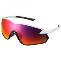 SHIMANO Lunette S-Phyre X OPTIMAL White/Lens Red (SHECESPHX1PLW04)