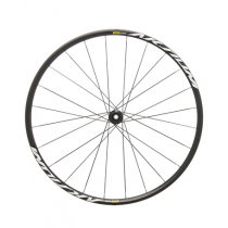 MAVIC Roue AVANT AKSIUM ELITE 700C Disc 12x100mm Clincher Black (11105004003)
