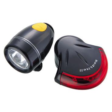 TOPEAK Highlite Combo II - Black (White lite II + Red lite II) (TMS037)